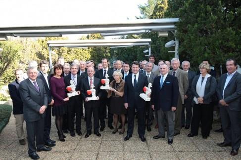 Les personnalités du Comité de Haut Parrainage 2012.