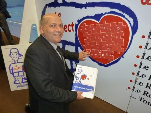 M. Marc Verlay est l'initiateur du projet des Ecoles Primaires à Nice.