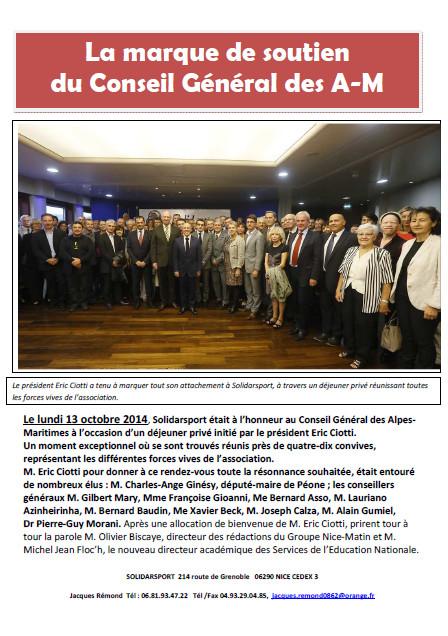 repas partenaires 13-10-2014